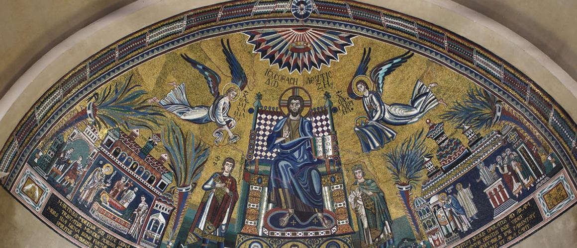 Mosaic in Sant'Ambrogio Basilica