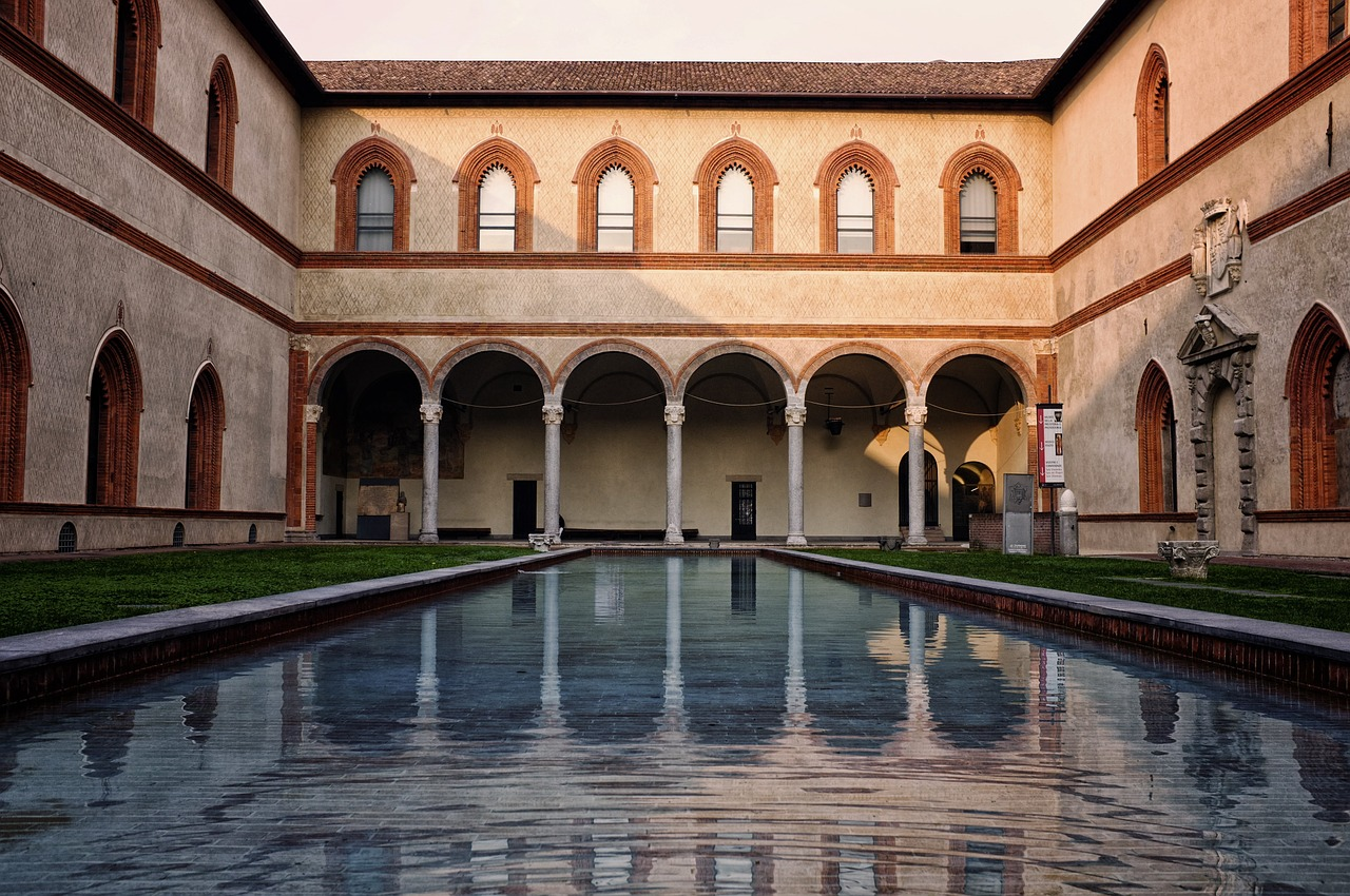 Sforza Castle (internal court)