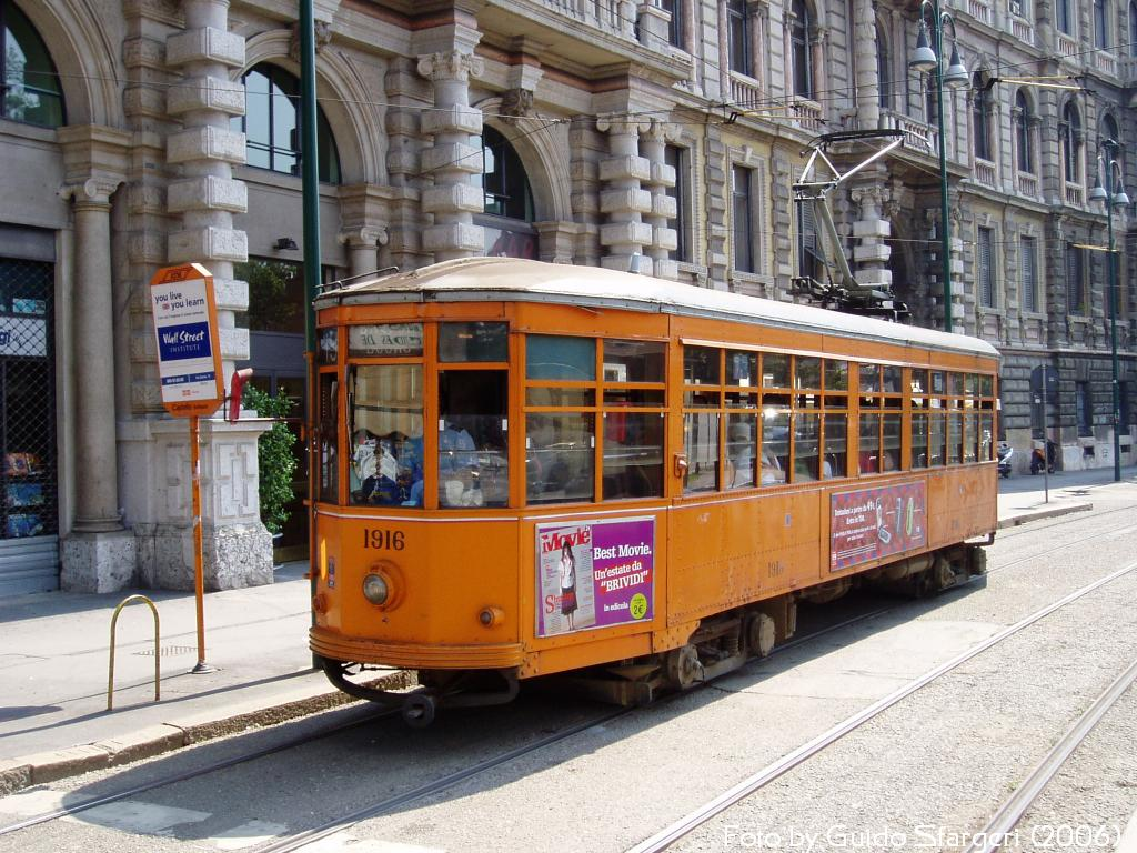 Typical tram