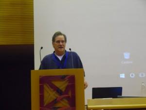Mark Watson introducing Aureo de Paula